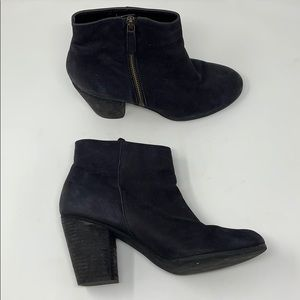BP Black Leather Booties Size 8